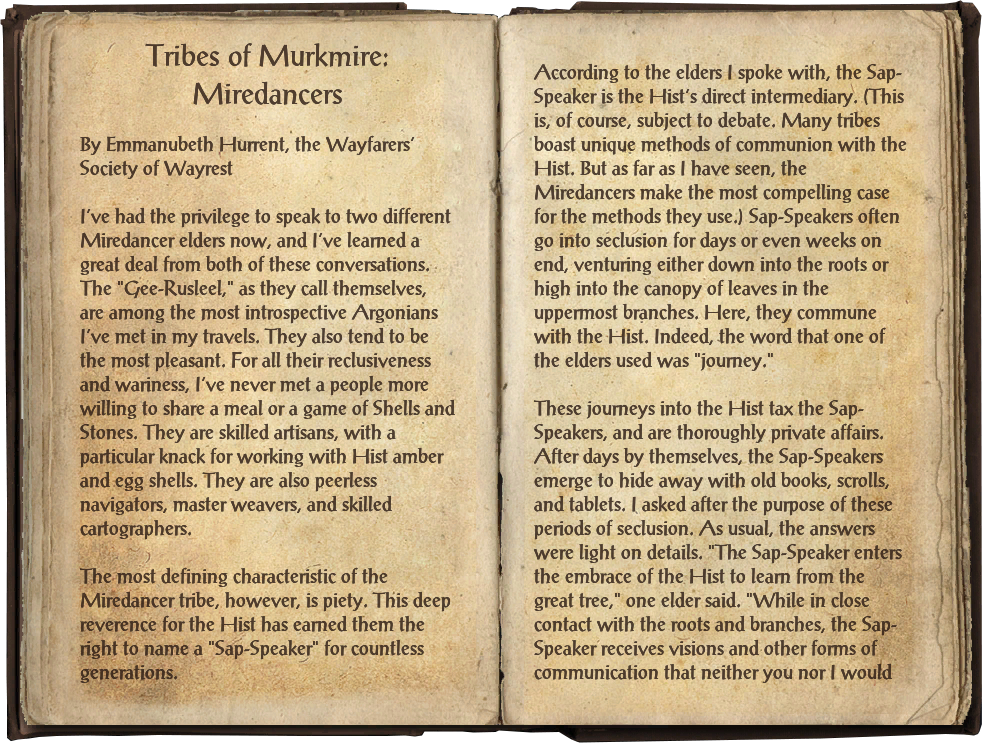Tribes of Murkmire: Miredancers