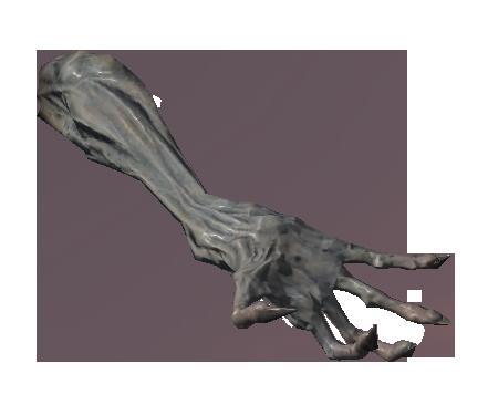 Рука древнего вампира