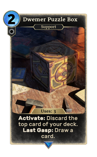 Dwemer Puzzle Box (Legends)