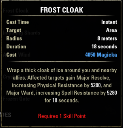 Frost Cloak (Online)