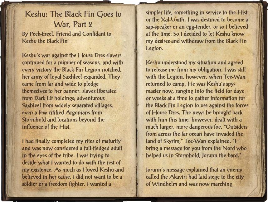 Keshu: The Black Fin Goes to War, Part 2