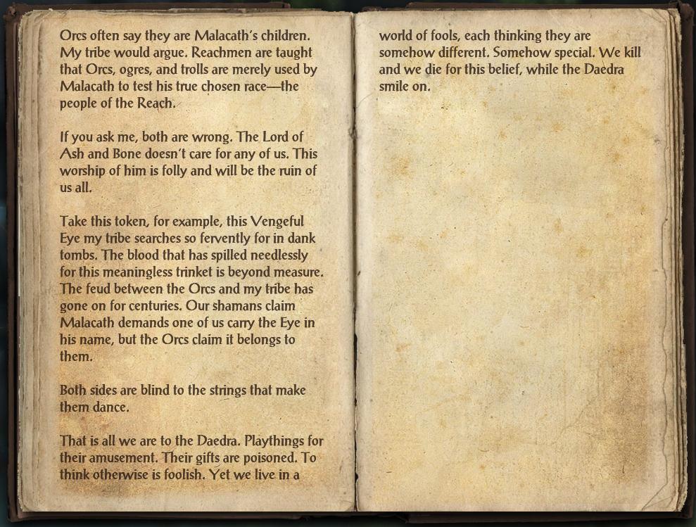 Malacath and the Reach
