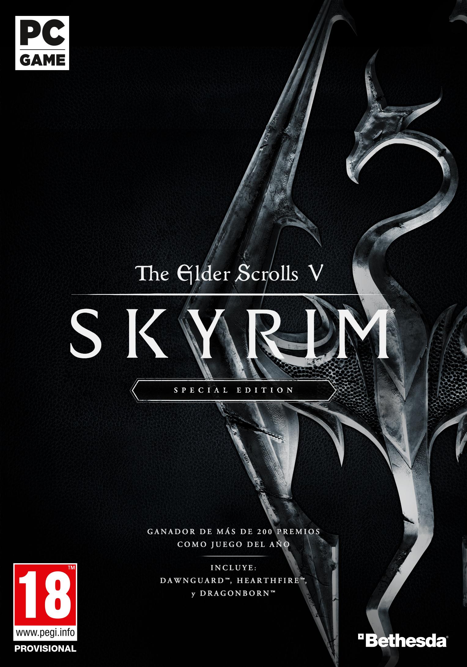 CuBaN VeRcEttI/Bethesda realiza una presentación sobre la saga The Elder Scrolls con motivo de The Elder Scrolls V: Skyrim Special Edition