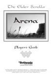 The Elder Scrolls Arena Player's Guide