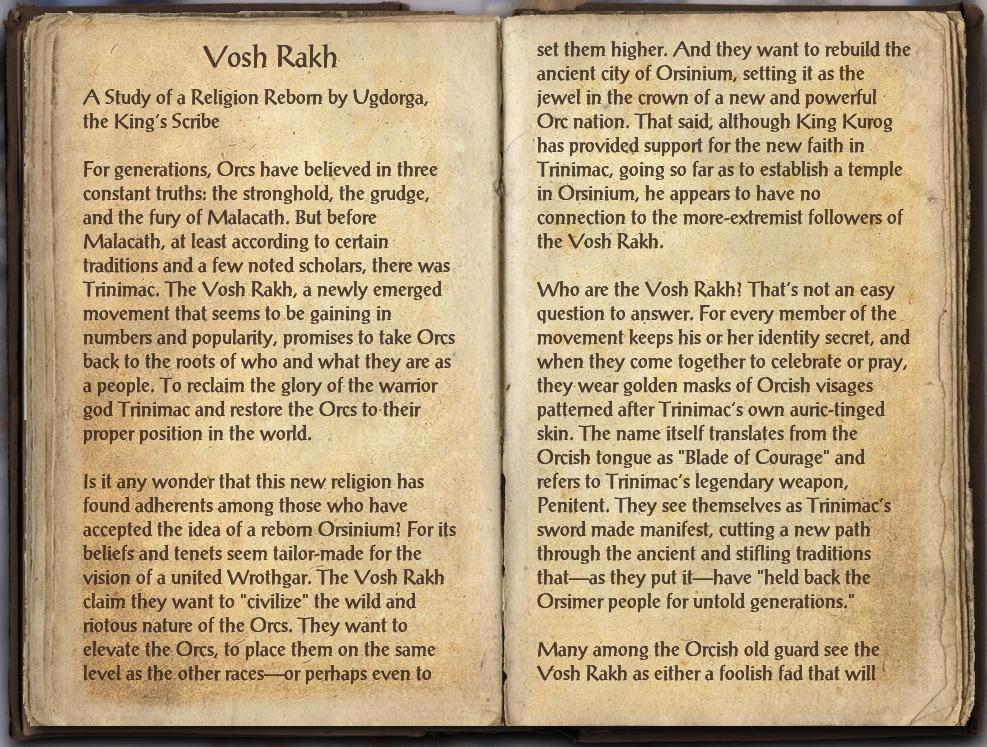 Vosh Rakh (Book)