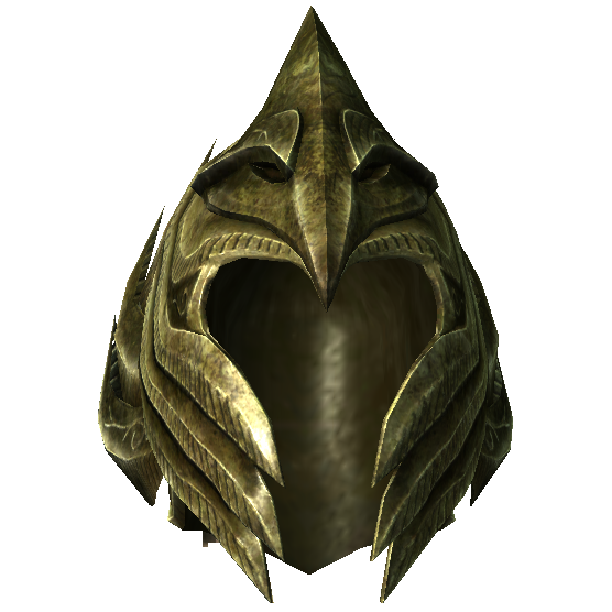 Эльфийский лёгкий шлем