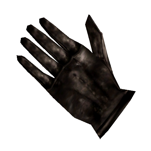 Black Left Glove
