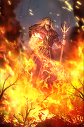 Cruel Firebloom card art