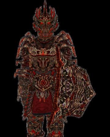Daedric Armor Oblivion Elder Scrolls Fandom So apparently after you upgrade dragon plate to legendary it surpasses daedric in armor rating. daedric armor oblivion elder