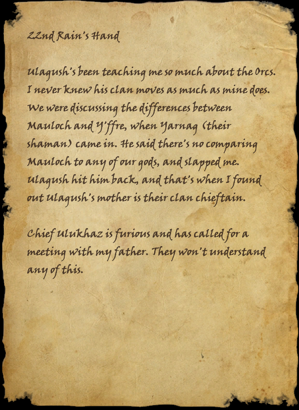 Dalaneth's Journal, Page 3