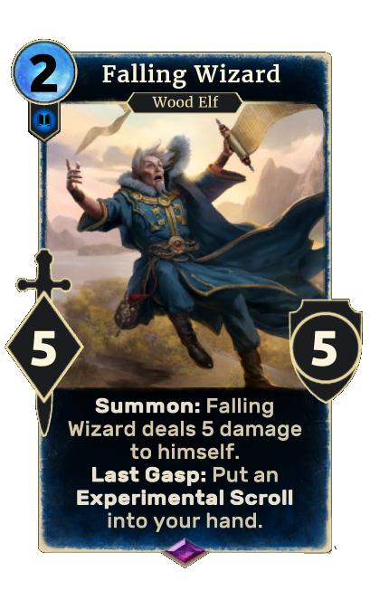 Falling Wizard