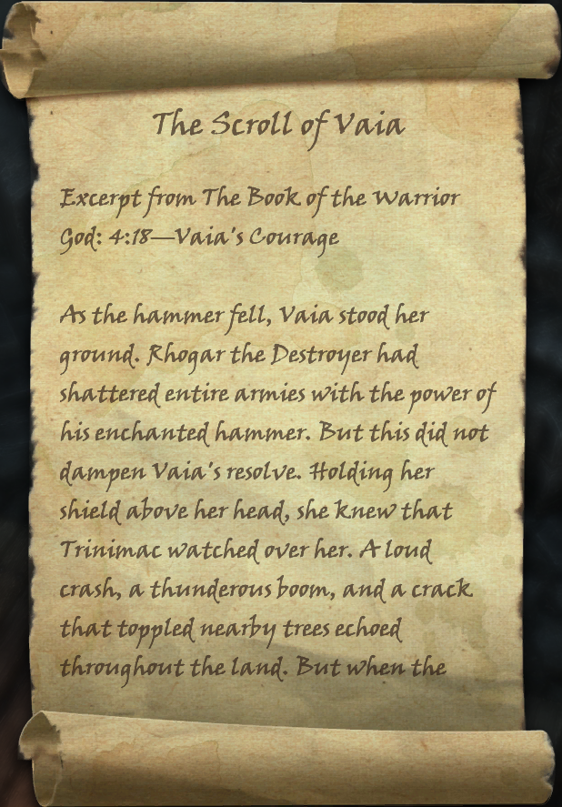 The Scroll of Vaia