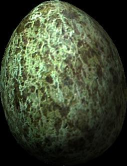 Uovo di passero delle rocce