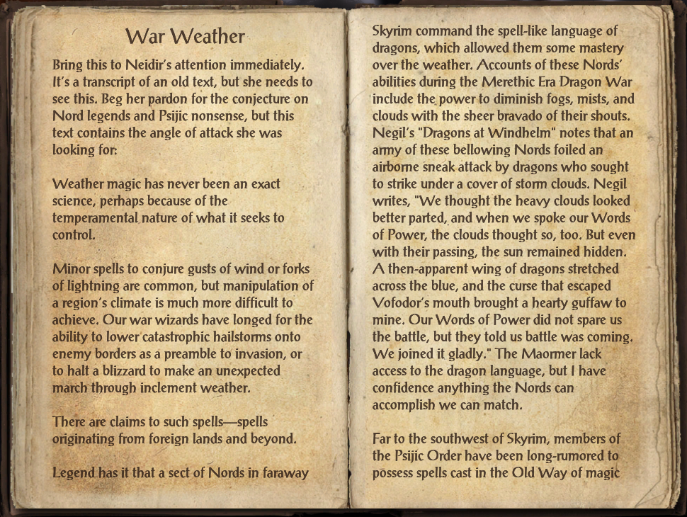 War Weather