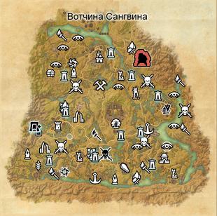 Вотчина Сангвина (карта)
