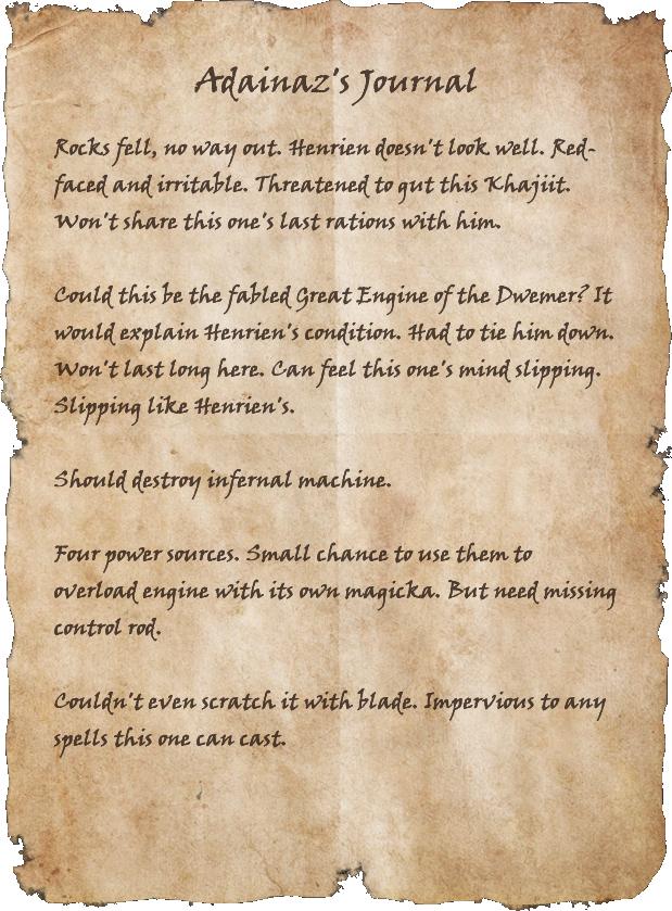 Adainaz's Journal