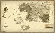 Szczegółowa mapa Tamriel