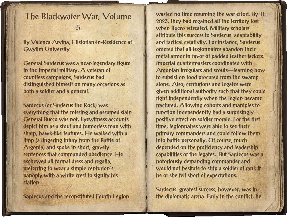 The Blackwater War, Volume 5