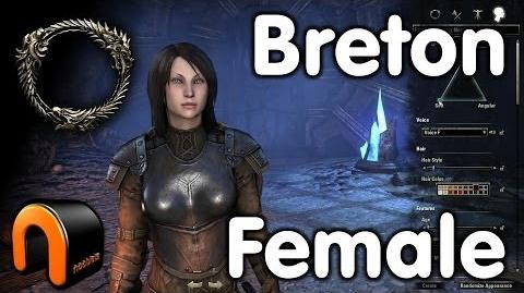 Elder Scrolls Online -- Breton Female - Character Creation