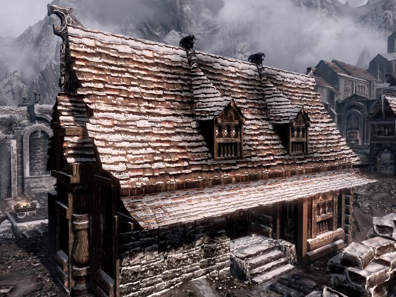 Дом Брунвульфа Зимний Простор