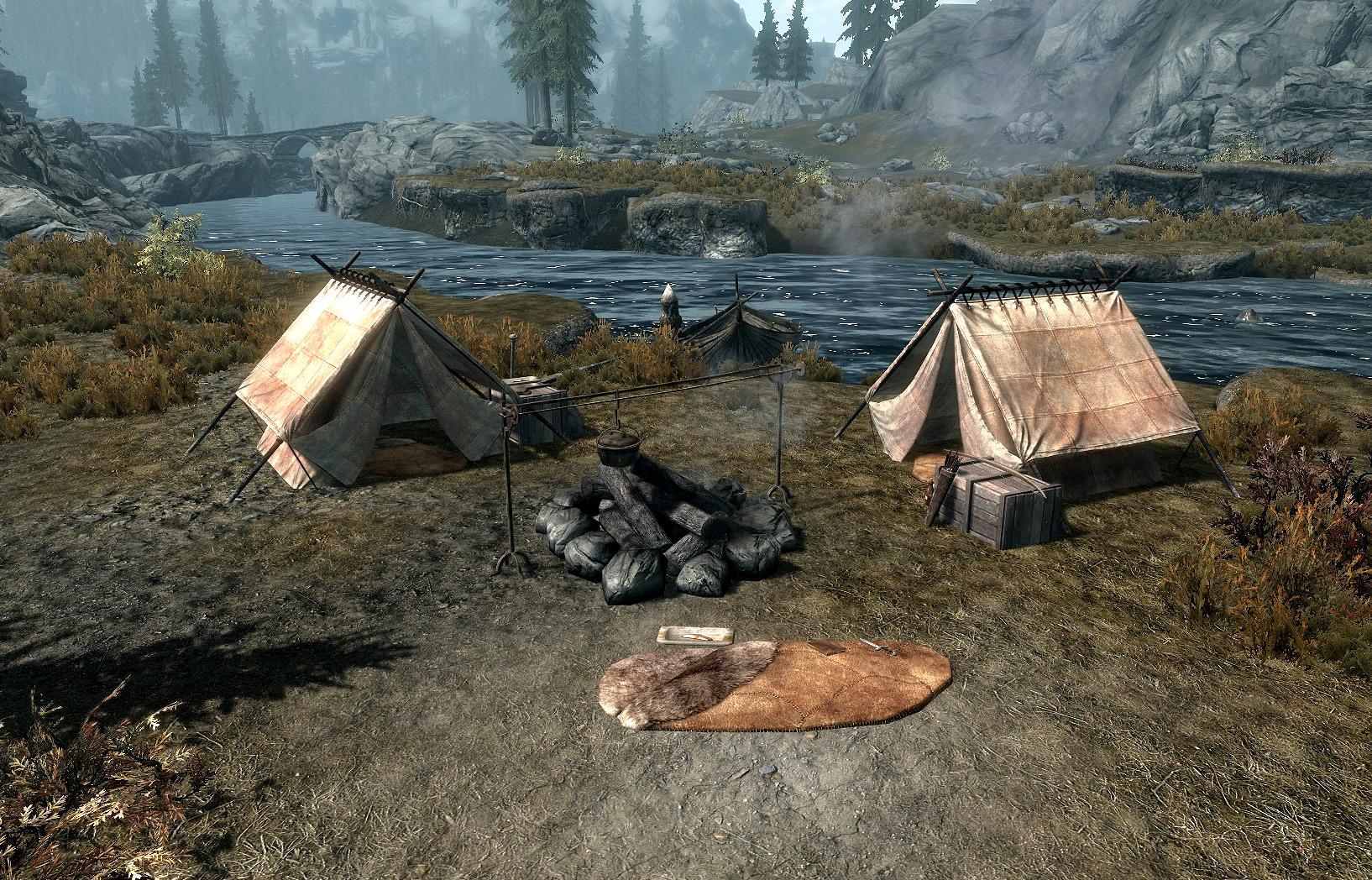 Лагерь авантюристов