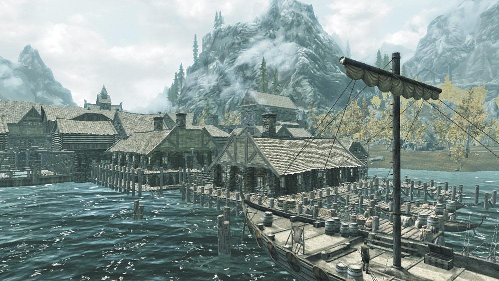 Рифтен — Рыбный порт