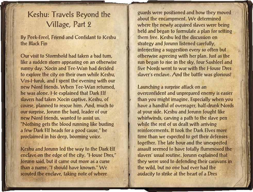 Keshu: Travels Beyond the Village, Part 2