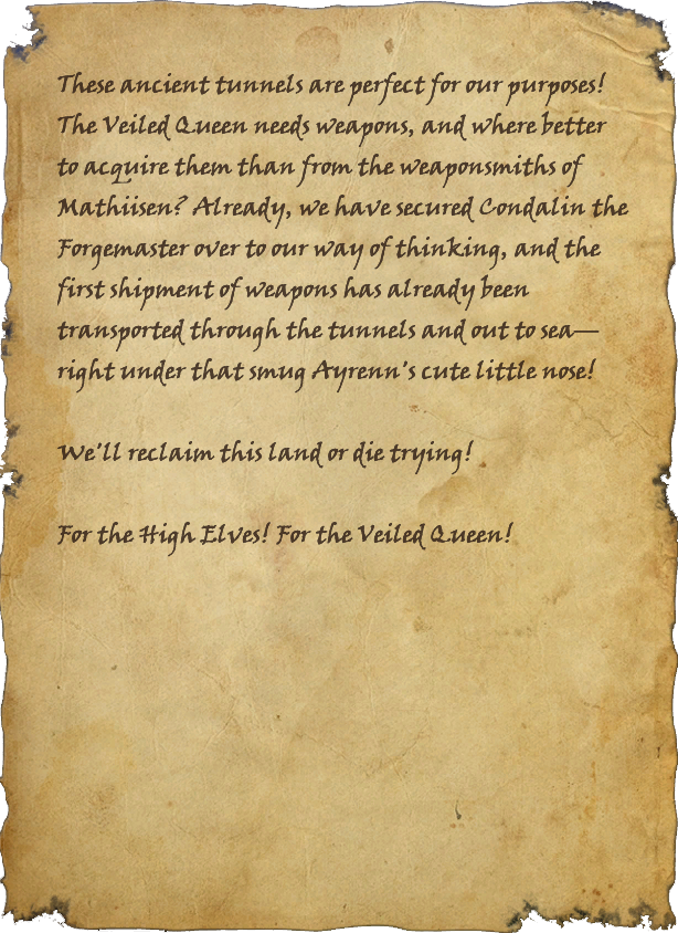 Smuggler's Note (Smuggler's Tunnel)