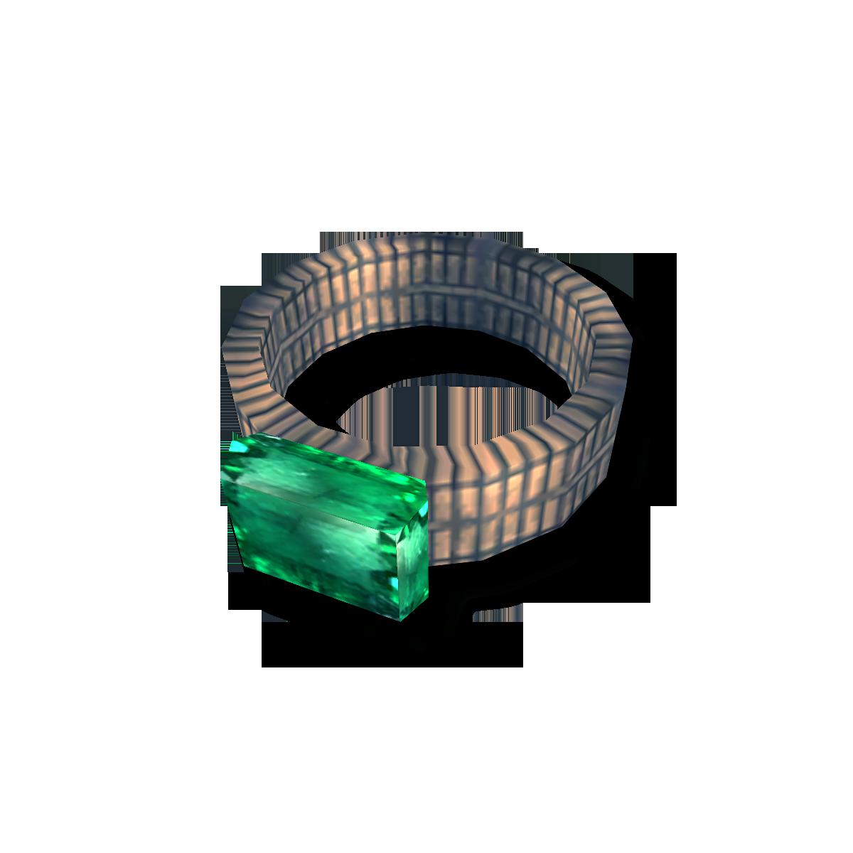 Гравированное кольцо исцеления