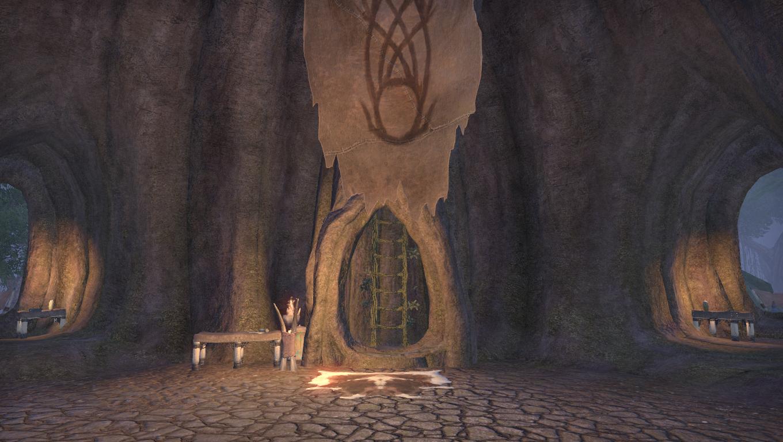 Зал аудиенций древесного тана