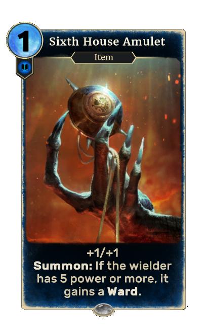 Sixth House Amulet (Legends)