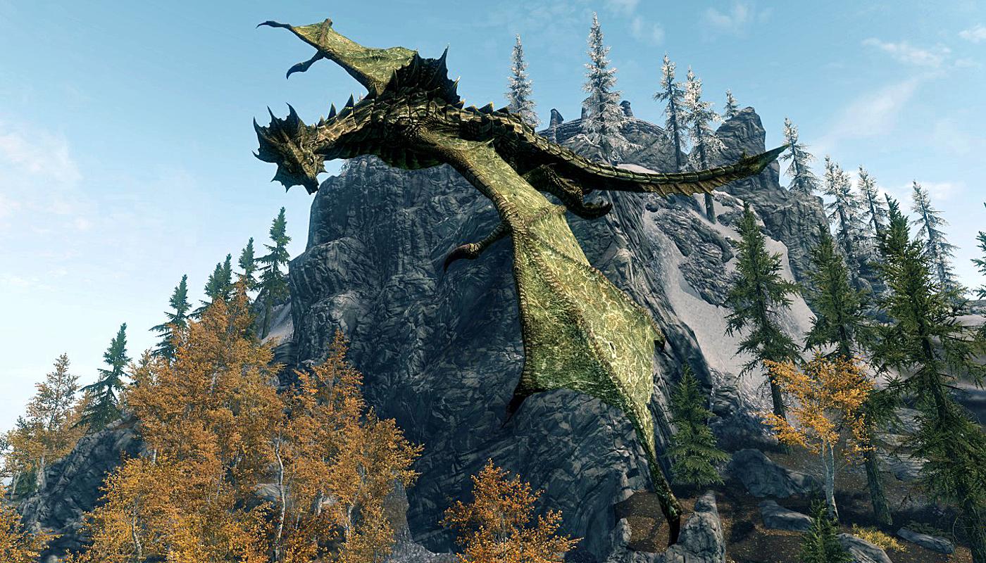 Blood Dragon (Skyrim)