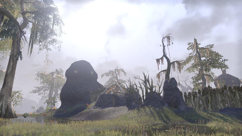 Заброшенная деревушка