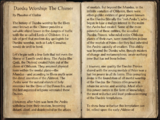 Daedra Worship: The Chimer