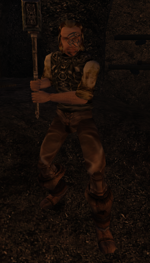 Godrod Futrzane Spodnie