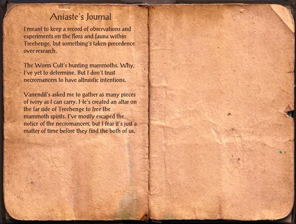Aniaste's Journal
