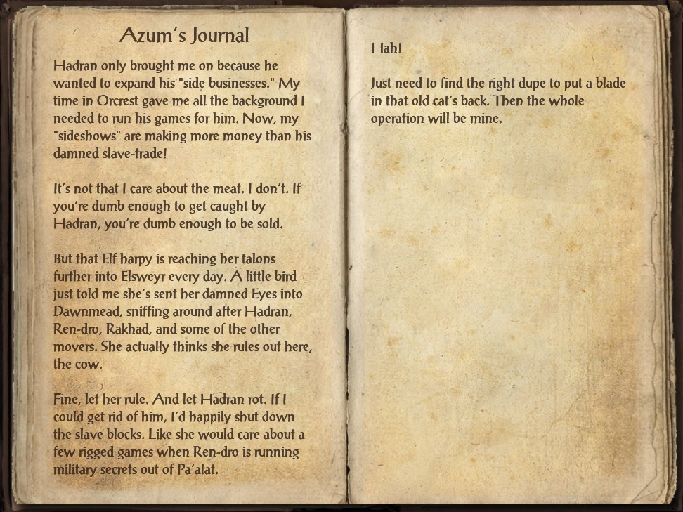Azum's Journal
