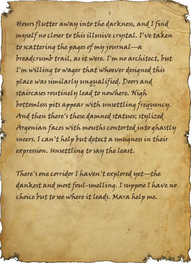 Ixtaxh Explorer's Journal, Page 2