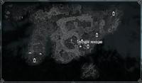 Курган Лабиринтиана на карте