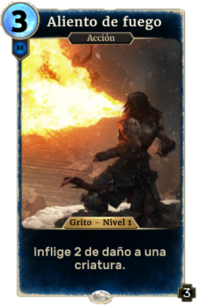 Aliento de fuego (Legends)
