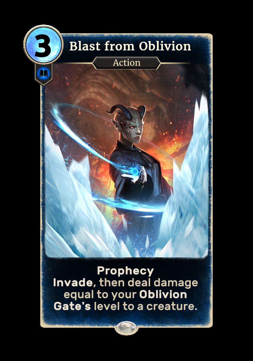Blast from Oblivion