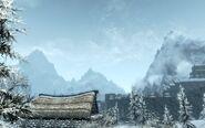 Widok na Wichrowy Tron (Skyrim)