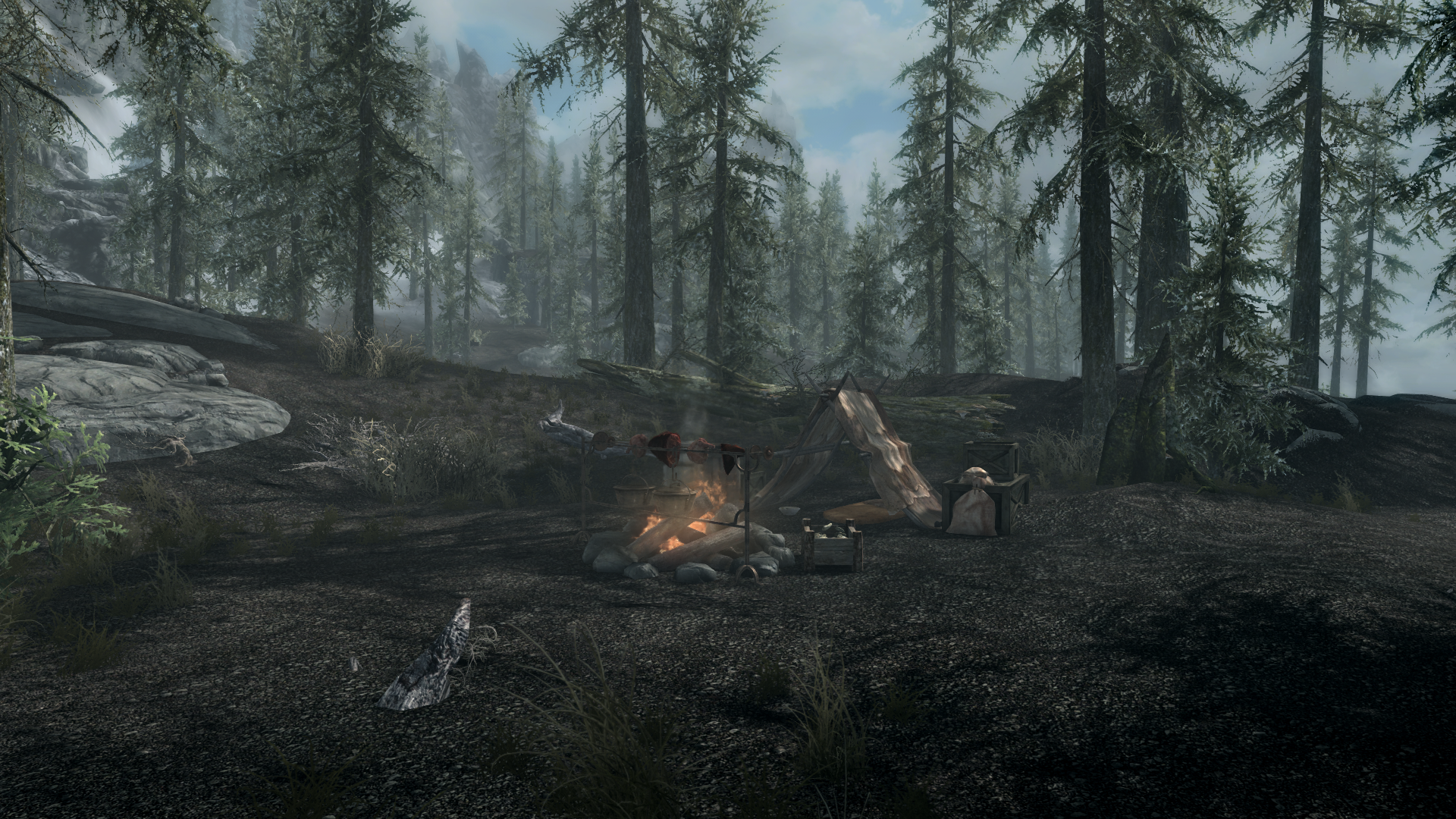 Лагерь Ловца Устриц