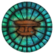 Zenithar Stained Glass Circle