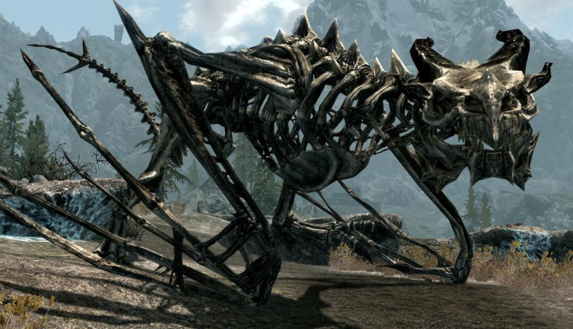 Drago scheletrico