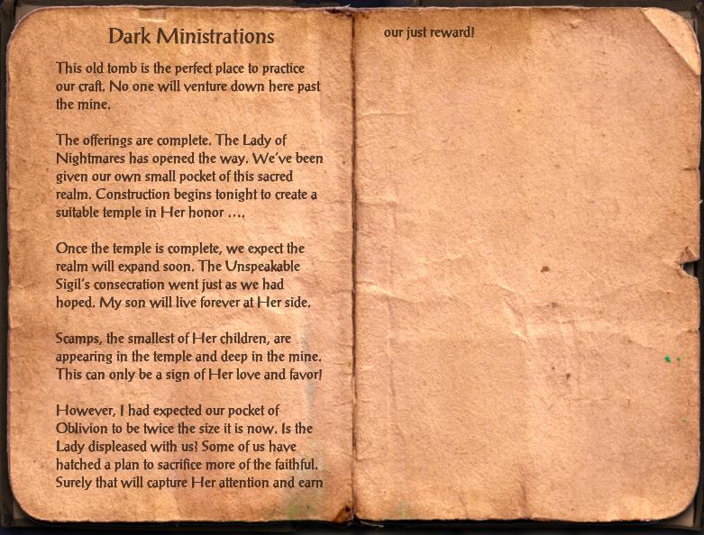 Dark Ministrations