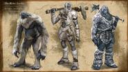 Ogre Giant Giantess Concept Art