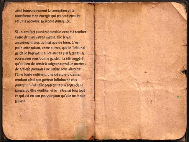 Le jugement de saint Véloth