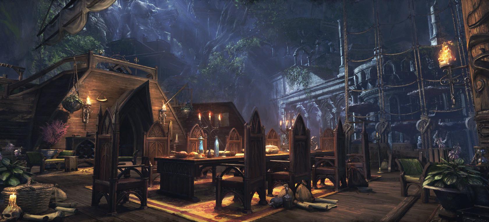 Colossal Aldmeri Grotto