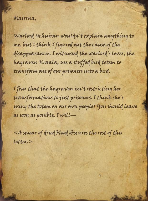Winterborn's Note